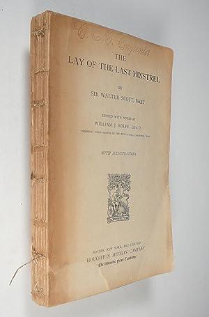 The Lay of the Last Minstrel: Scott. Sir Walter,