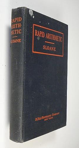 Rapid Arithmetic: Sloane, T. O.