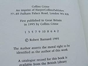 The Bad Samaritan: Barnard, Robert