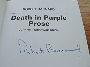 Death in Purple Prose aka The Cherry Blossom Corpse: Barnard, Robert