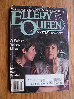 Ellery Queen's Mystery Magazine: April 1989: Rendell, Ruth, J.