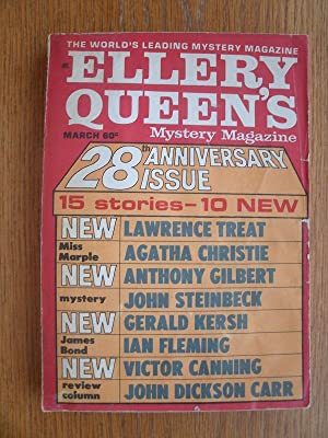 Ellery Queen's Mystery Magazine March 1969: DiRienzo, Constance (ed),