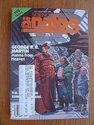 Science Fiction Analog Science Fact Mid-December 1985: Schmidt, Stanley (ed),