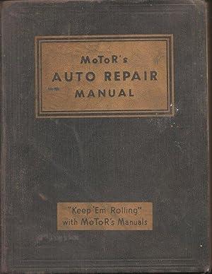 Motor's Auto Repair Manual: Blanchard, Harold F., editor