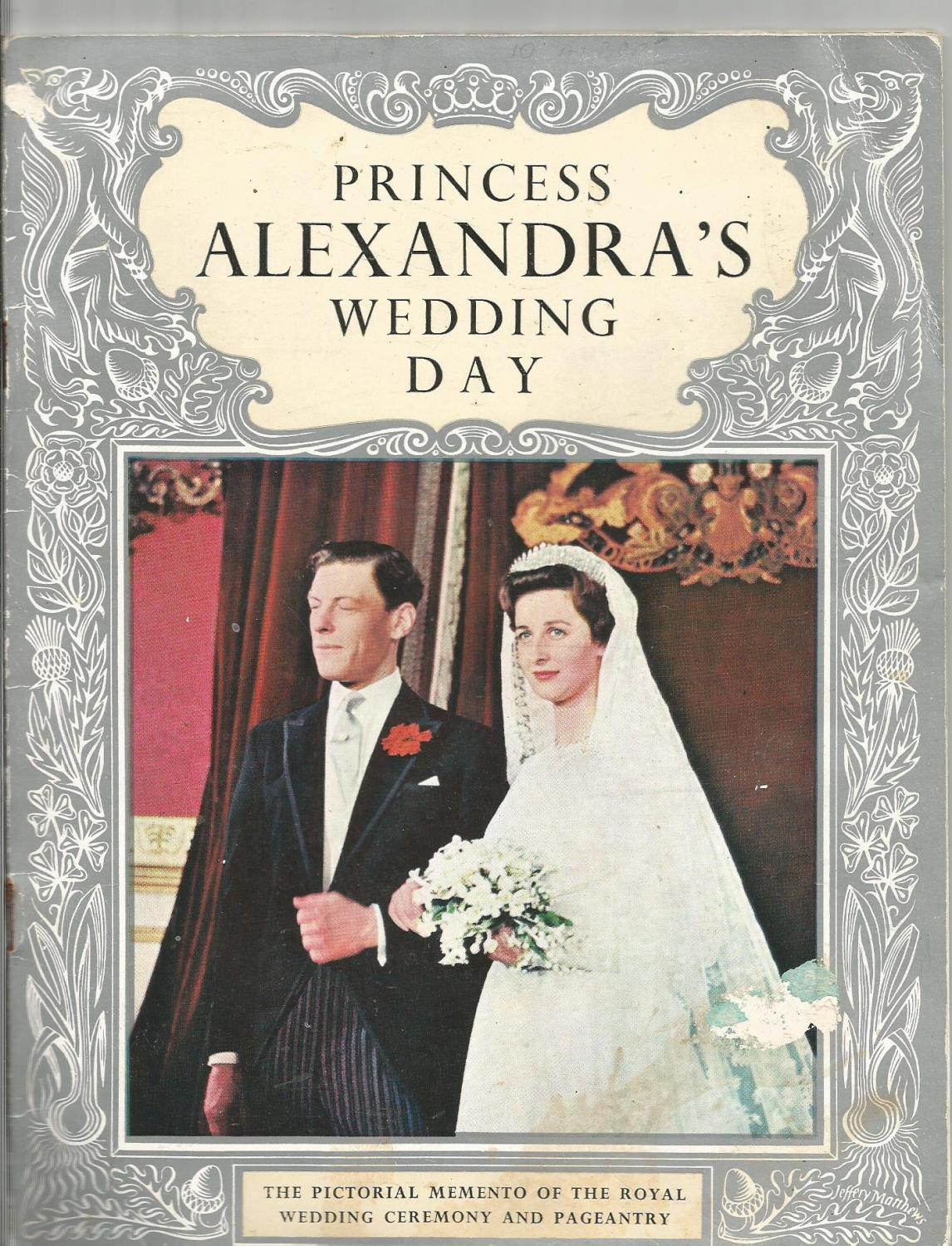 Princess Alexandra's Wedding Day