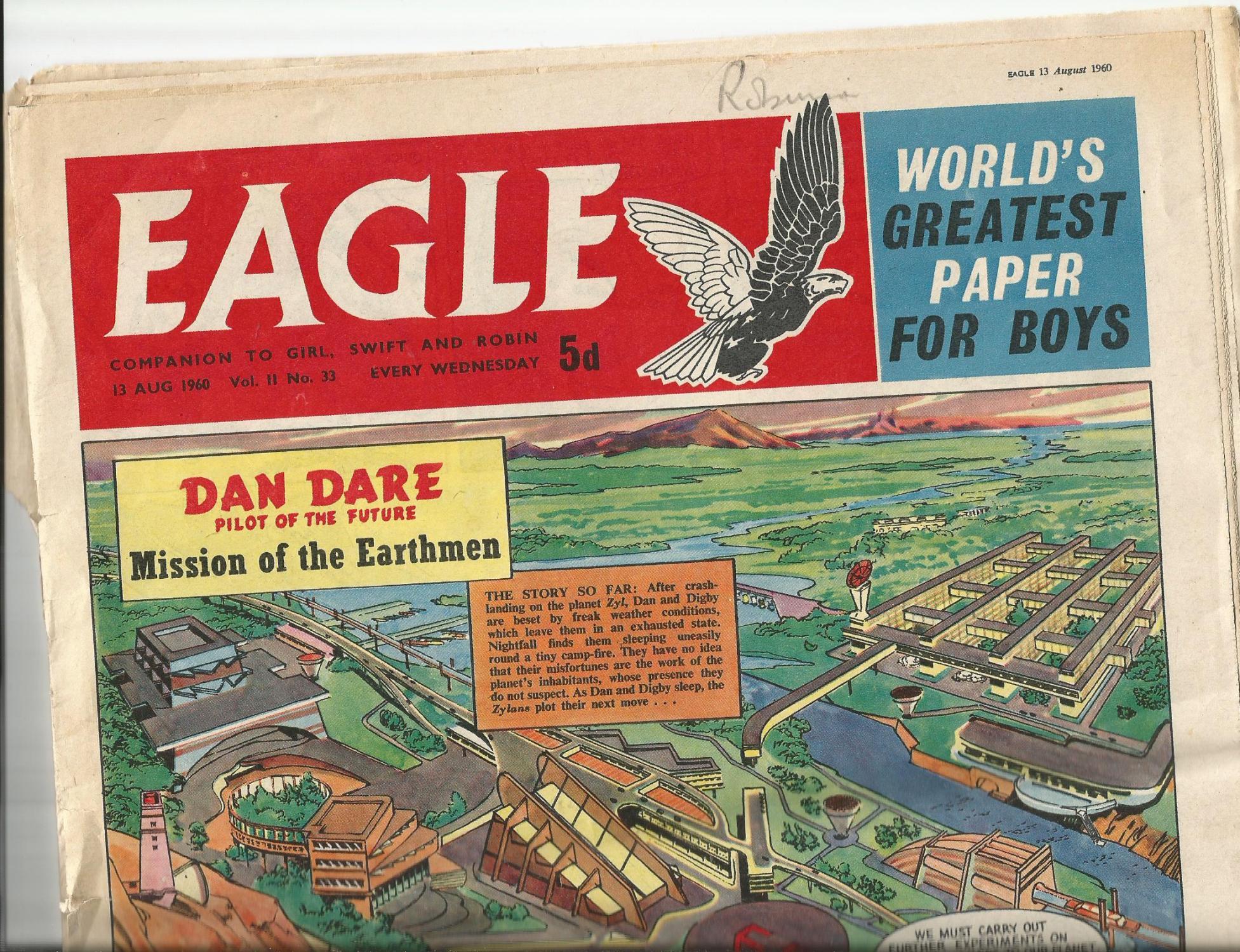 9 Eagle Comics Various Dates 13 August- 15