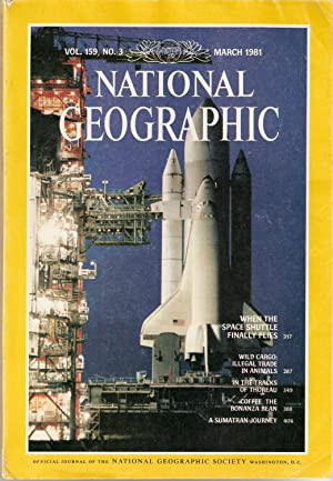 National Geographic March 1981. Vo.159, No 3.