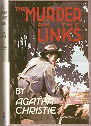 The Murder on the Links (Facsimile of First Edition with Loose wrap-round band)