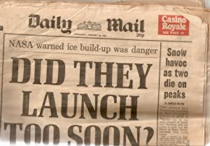 Daily Mail January 30 1986