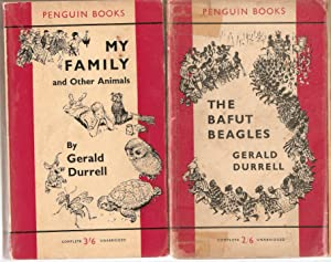Set of 3 Separate Books 1) The: Gerald Durrell
