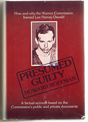 Superb Presumed Guilty.: Roffman, Howard  Presumed Guilty Book