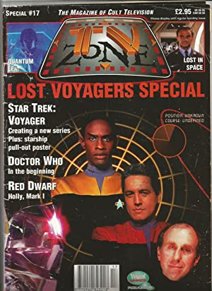TV Zone Special No 17. June 1995. Star Trek, Docror Who, Red Dwarf, Galactica, Space 1999. Lost i...