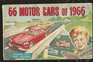 66 Motor Cars of 1966. Presented with