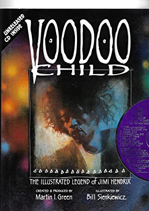 Voodoo Child: The Illustrated Legend of Jimi Hendrix (WITH CD (unopened.)