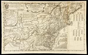 A Map of the Middle British Colonies: POWNALL, Thomas &