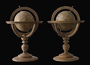 A pair of table globes] Marius Cartarus: CARTARO, Mario