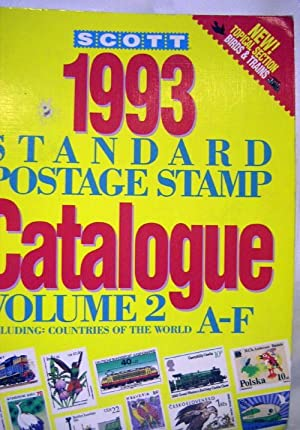 Scott 1993 Standard Postage Stamp Catalogue Vol. 2: Cummings, William W. (Editor)