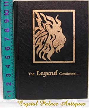 The 1995 Lion: The Legend Continues: Greenville: Year Book Staff: