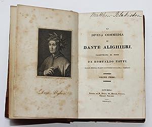 La Divina Commedia Volume Primo ( I Inferno): Alighieri, Dante; Zotti, Romualdo