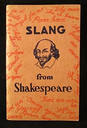 Slang from Shakespeare Together with Literary Expressions: Baten, Anderson M.