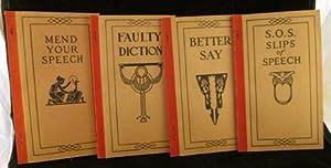 Mend Your Speech: Vizetelley, Frank H.