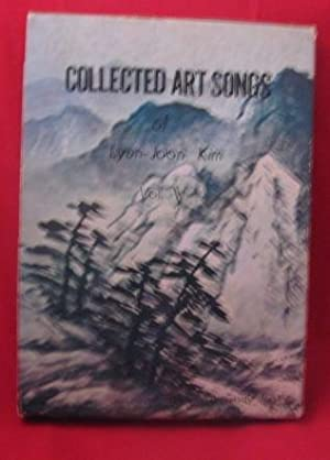 Collected Art Songs, Volume 5