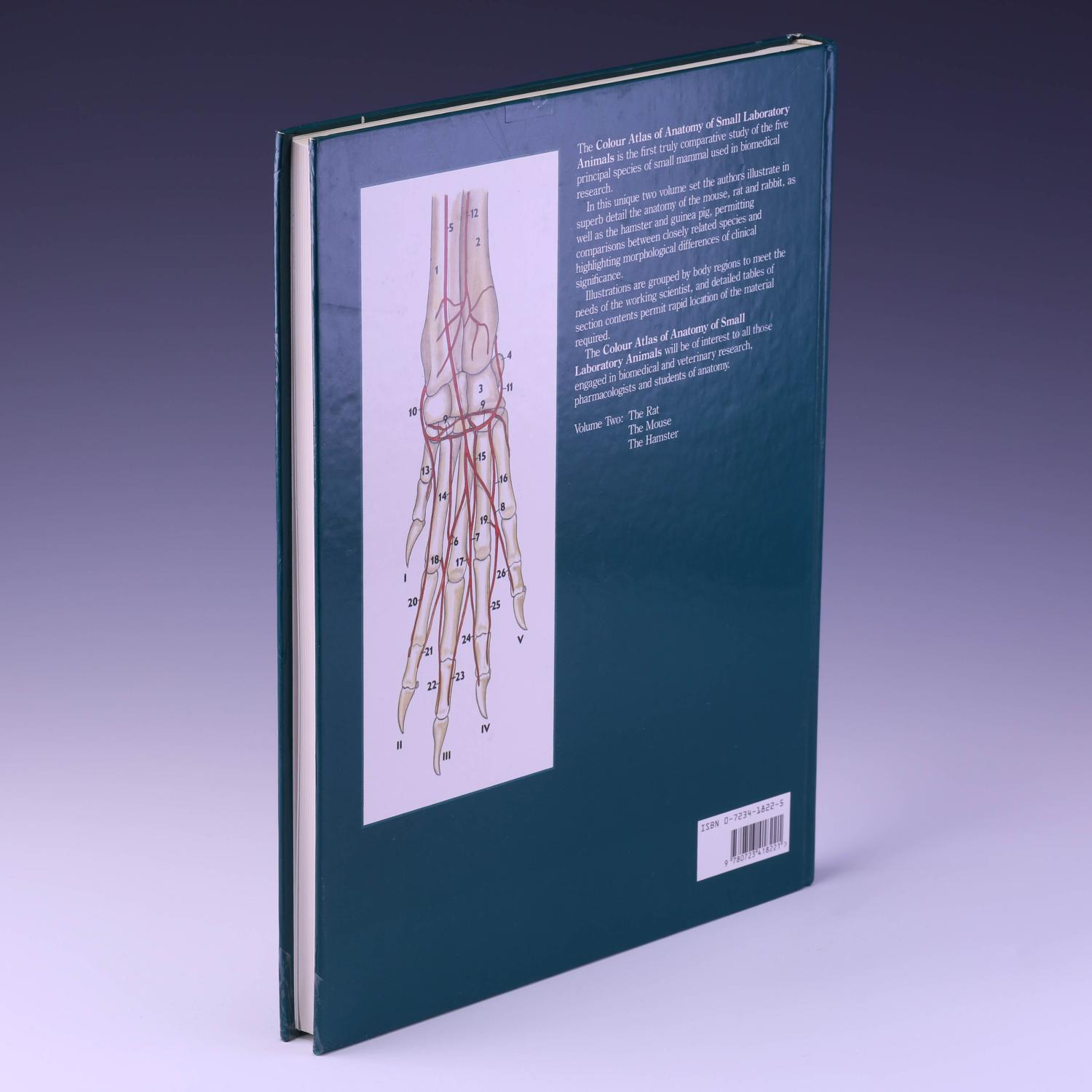 A Colour Atlas Of The Anatomy Of Small Laboratory Animals Volume I