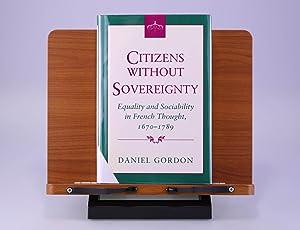 Citizens without Sovereignty: Gordon, Daniel