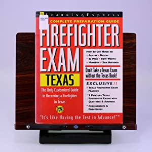 Firefighter Exam: Texas: The Complete Preparation Guide (LEARNING EXPRESS CIVIL SERVICE LIBRARY ...