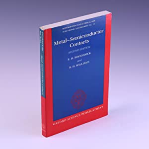 Metal-Semiconductor Contacts (Monographs in Electrical and Electronic: Rhoderick, E. H.;
