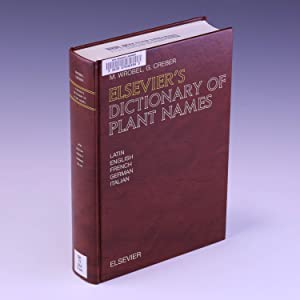 Elsevier's Dictionary of Plant Names: In Latin,: Creber, G.; Wrobel,