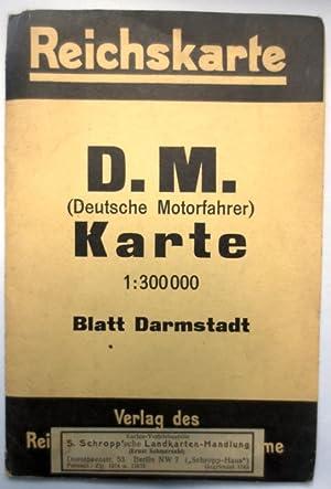 Reichskarte. D.M. (Deutsche Motorfahrer) Karte. 1:300000 ;: Reichsamt f. Landesaufnahme