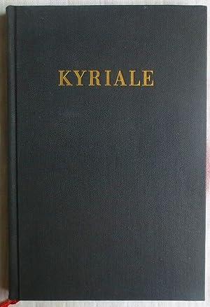 Kyriale sive Ordinarium missae : Missa pro: Schwann, A. [Ed.]