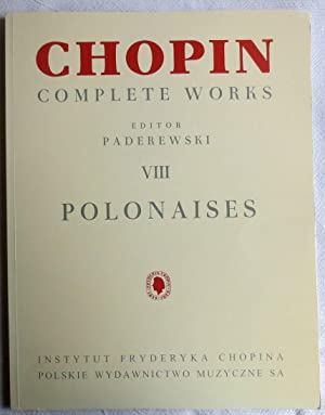 Frédéric Chopin ; Complete works ; 8 ; Polonaises for piano