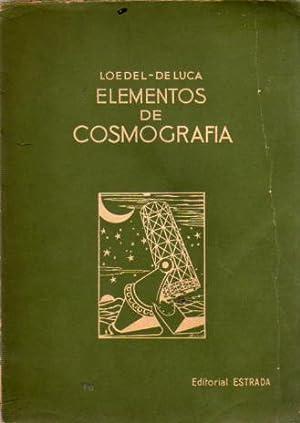 Elementos de Cosmografía: Loedel Palumbo, Enrique - De Luca, Salvador