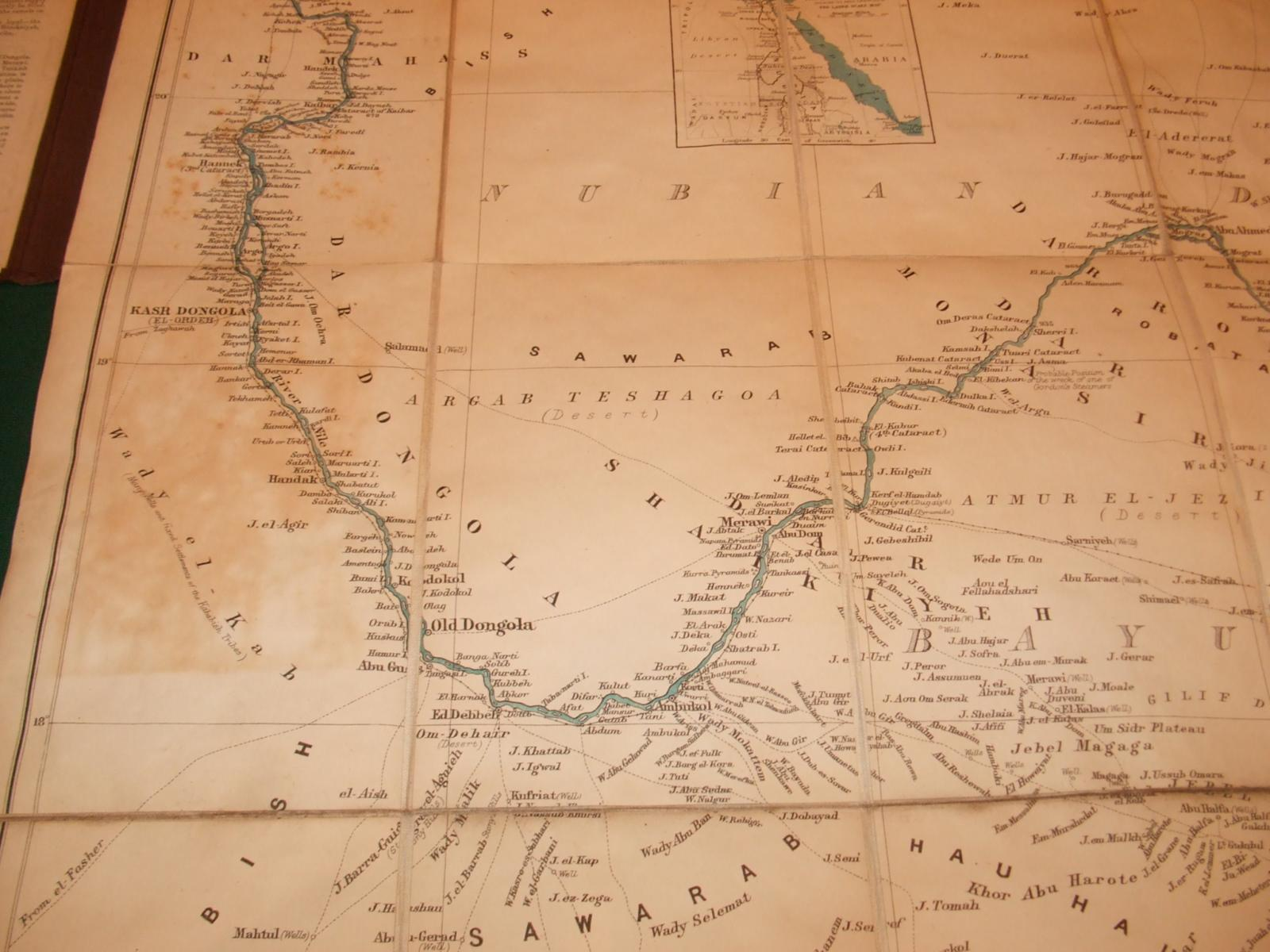 Large Scale Map of the Nile from Dongola to ... on map of elmwood, map of flossmoor, map of dalzell, map of wadi halfa, map of granite city, map of zinder, map of rumbek, map of farmer city, map of south darfur, map of kenema, map of faiyum, map of elburn, map of zeila, map of brownstown, map of kom ombo, map of arthur, map of dallas city, map of future city, map of giant city state park, map of rafah,