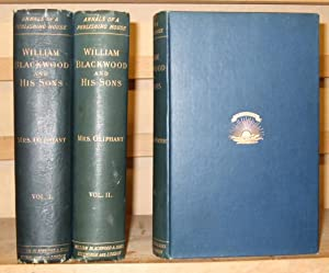 William Blackwood and His Sons Signed Copy ( 3 Volumes )