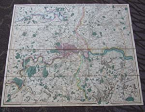 London [ Map of the Country Twelve Miles Round London ]