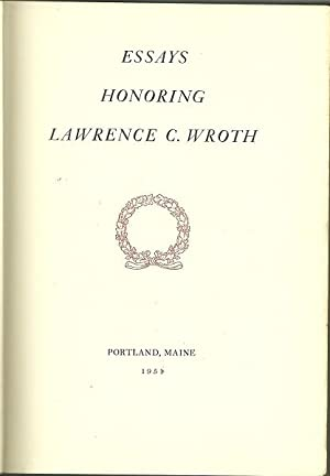 Essays Honoring Lawrence C. Worth