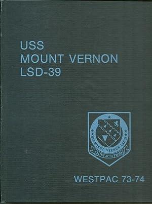 USS Mount Vernon LSD 39 - WestPac 73-74