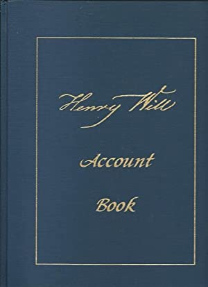 Henry Will Account Book