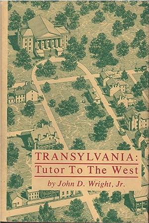 Transylvania: Tutor to the West: John Wright