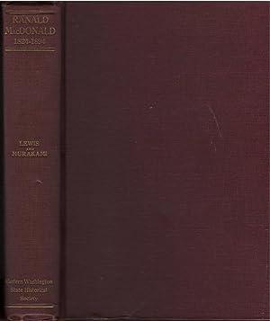 Ranald MacDonald: Ed. William S.Lewis and Naojiro Murakami