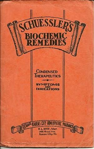 Homeopathic Schuessler's Twelve Tissue Biochemic Remedies