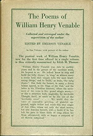 The Poems of William Henry Veable: William Henry Venable