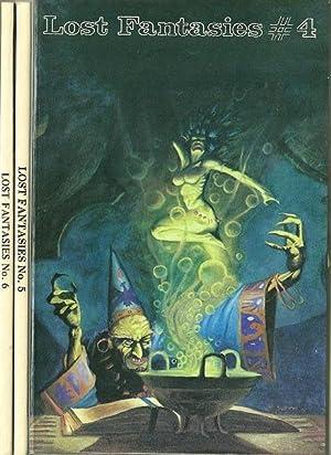 Lost Fantasies #4,#5,#6: Robert Weinberg, Ed.