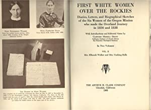 First White Women Over the Rockies Vol.2: Clifford Drury