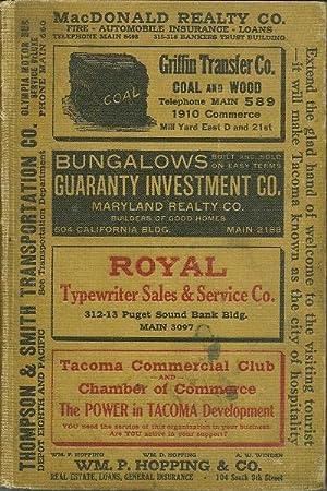 Polk's Tacoma Directory 1921: Flying Hawk) M.L. McCreight