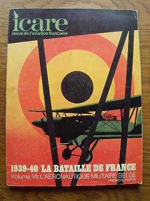 Revue de l'aviation française. 1939-40 La bataille: ICARE