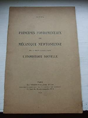 Principes fondamentaux de mécanique newtonienne e corrélation: AZAL